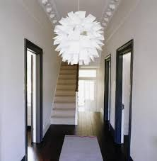 Pendant Lights For Hallways For My Narrow Hallway To Bounce Light Two Mirrors On
