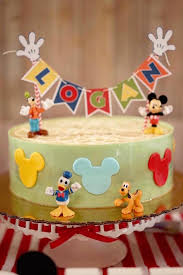 kara u0027s party ideas colorful mickey mouse 1st birthday party