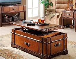 Lift Top Coffee Table Plans Coffee Table Coffee Table Steamer Trunk Lift Top Gadget Flow Diy