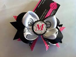 custom hair bows custom softball soccer cheer ribbonsandcurlz