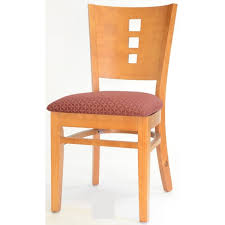 Dining Chair Cherry Pattern Back Wood Dining Chair In Cherry Color Wc116c