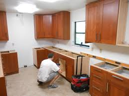 installing kit image photo album kitchen cabinets installation