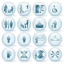 icones de bureau ensemble d icônes de bureau vector signes clip libres de