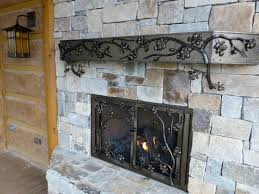 fireplace screens custom designed and forged for your home
