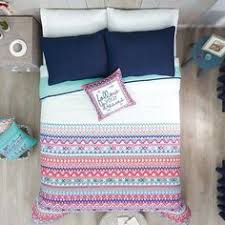 twin full queen size 100 cotton bohemian boho style floral bedding