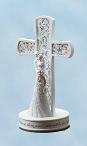 christian wedding cake toppers with cross cake topper christianbook