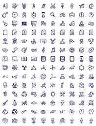 hand drawn sketch icon set icons pinterest icon set hand