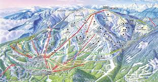 Utah Ski Resort Map by Whitefish Mountain Resort U2022 Ski Holiday U2022 Reviews U2022 Skiing