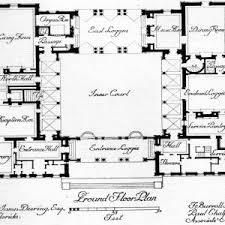pool courtyard house plans floor second sunco surripui net