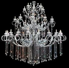 Crystal And Chrome Chandelier Theinteriorgallery Com Premieres New Crystal Chandelier Collection