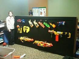 Nerf gun rack Kotas New Room Pinterest