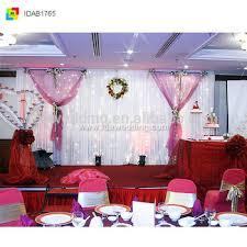 wedding backdrop fabric plain fabric white and wedding backdrop for wedding stage