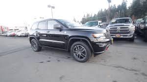 jeep grand cherokee trailhawk black 2018 jeep grand cherokee trailhawk 4x4 diamond black jc167995