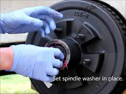 how to change trailer brake replace brakes electric youtube