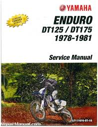 1979 1980 yamaha dt125 dt175 motorcycle service manual