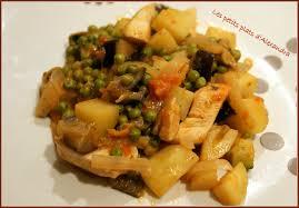cuisine a base de poulet wok de légume et poulet les petits plats d alexandra