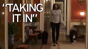 Video House by Michelle Obama Takes U0027one Last Walk U0027 Through The White House As