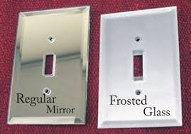 clear light switch cover mirror switchplates frosted glass switch plates www arnev com