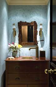 Beautiful Powder Room Bathroom Cool Powder Room Vanity And Round Undermount Sink Also