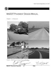 pavement design manual road surface geotechnical engineering