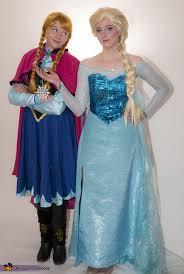 Elsa Costume Frozen Sisters Anna And Elsa Costumes