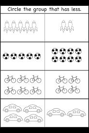 Fact Family Worksheets Comparison Worksheets U2013 More Or Less U2013 2 Worksheets Free