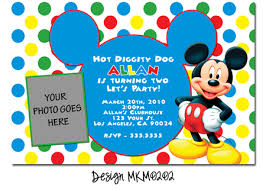 mickey mouse birthday invitations orionjurinform com