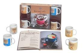 coffret livre de cuisine livre coffret mug cakes 4 mugs nestlé dessert collectif