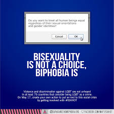 Bisexual Memes - biphobia idahotb