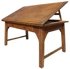 Drafting Table Calgary Antique Drafting Table With Internal Wood Lift Building A