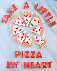 valentines day cookies pizza s day cookies food craft ideas