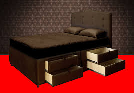 elegant platform bed frame with drawers with best 25 bed frame