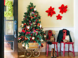 15 festive entryway decorating ideas for the holidays hgtv s