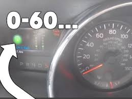 mustang v8 0 60 0 60 acceleration of 2017 mustang gt with dash timer