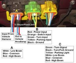 meyerplows info meyer headlight changeover module information