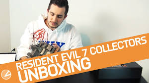 unboxing resident evil 7 collector u0027s edition italiana youtube