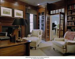 Interior French Doors With Transom - contemporary home office with french doors by pohlig builders