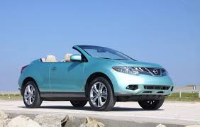 nissan crosscabriolet nissan suv ragtop fun in the sun up high