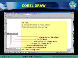 pattern fill coreldraw x6 designing artsistic with corel draw ppt download