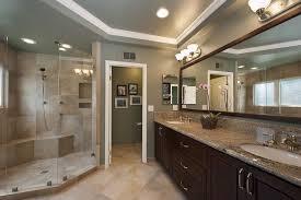 wood tile bathroom beige color scheme for master bath cabinet
