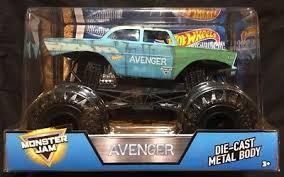 original grave digger monster truck 2017 wheels monster jam grave digger primer red original