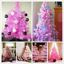 pink tree decorating decor pink