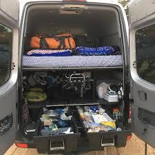Sprinter Bench Seat Mercedes Benz Sprinter Cargo Van Decked System Free Shipping