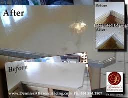 Resurfacing Kitchen Countertops Deluxe Custom Resurface Kitchen Countertop That Will Fit In All