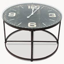 Clock Coffee Table Fairfield Clock Coffee Table Allissias Attic