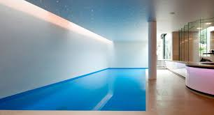 in ground swimming pool concrete lap indoor south london