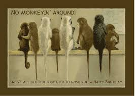 monkey business funny birthday free boss u0026 colleagues ecards