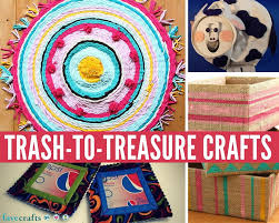 Trash To Treasure Ideas Home Decor 26 Great Trash To Treasure Crafts Favecrafts Com