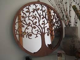 tree of wall mirror blue merle milli madeit au