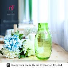 Bottle Vases Wholesale Sale Decorative Vases For Hotels Flower Colored Glass Vases